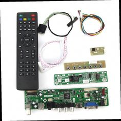 42.12$  Buy now - http://aliq9r.worldwells.pw/go.php?t=32701826363 - T.VST59.03 LCD/LED Controller Driver Board(TV+HDMI+VGA+CVBS+USB) For LP133WX3-TLA5  N133IGE LVDS Reuse Laptop 1280x800 42.12$