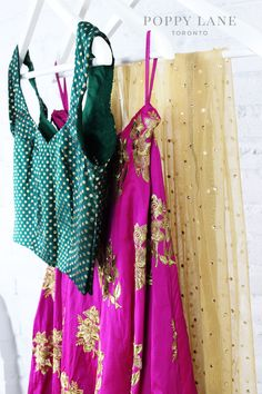 Unique Blouses, Sarees and Lenghas that embody the vibrancy of South Asian fashion with a modest up to date western flair. Choli Dress, Lehenga Choli, Indian Ethnic Wear, Indian Style, Indian Suits, Asian Fashion, Desi, Indian Clothes, Bridal