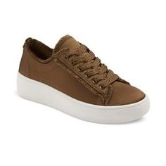 26e173ed09a Women s Zell Satin Lace Up Sneakers - Mossimo Supply Co.™ Mossimo Supply Co