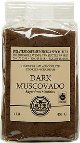 INDIA TREE   Dark Muscovado Sugar   Pack of 1lb   Ingredient: unrefined cane sugar   96% sugar   One teaspoon (4g) provides 16 calories and contains 4g of sucrose   Has a fine, moist texture, a high molasses content and a strong, lingering flavor   Goes well with other rich flavors such as gingerbread, coffee, chocolate cakes and fudge   Use in recipes calling for dark brown sugar   Product of Mauritius   #Kosher #FairTrade #nonGMO #unrefinedsugar #canesugar #whatsugar #koshersweetener…