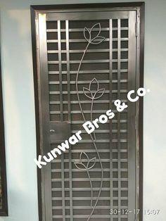 Trendy Main Door Design With Jali Ideas