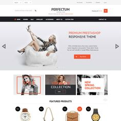Perfectum Premium Responsive PrestaShop Theme | Prestashop Theme Download
