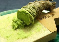 Health benefits of wasabi: One Japanese food that has some surprising health benefits is wasabi. Wasabi is a root vegetable often ground into a paste and served as a sauce in sushi restaurants.