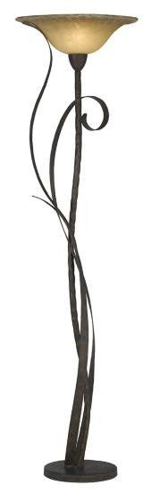 Pacific Coast Lighting Climbing Vine Torchiere Floor Lamp | Wayfair