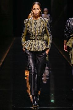 Balmain | Fall 2014 Ready-to-Wear Collection | Style.com #fashion #style #mysymphonyoflife