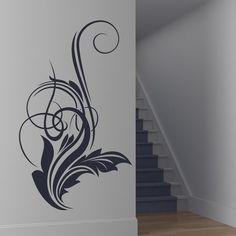 Swirl Wall Sticker Embellishment Wall Art