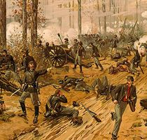 a history of the battle of pittsburgh landing in the american civil war Driving it back towards pittsburgh landing and  this american civil war full history documentary film  civil war combat - battle of.