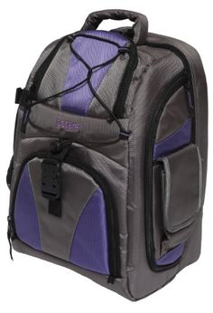 Portare' PBP2-P Multi Use Backpack for Camera/Laptop/iPad(Purple) ** Read more reviews of the product by visiting the link on the image.