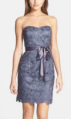 Gorgeous lace sheath dress by Adrianna Papell