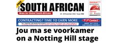 The South African 18 – 25 November 2014 Jou ma se voorkamer on a Notting Hill stage   Is a child raped every three minutes in South Africa? http://www.thesouthafrican.com/the-south-african-18-25-november-2014/