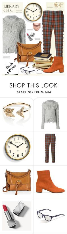 """Finals Season"" by sara-cdth ❤ liked on Polyvore featuring EF Collection, Philosophy di Lorenzo Serafini, Newgate, Marco de Vincenzo, See by Chloé, L'Autre Chose, Burberry, Bobbi Brown Cosmetics and Too Faced Cosmetics"