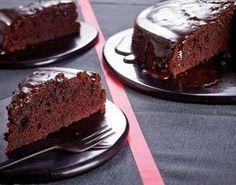 Saftiger Schokoladenkuchen - [ESSEN UND TRINKEN]