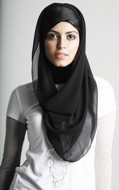 her hijab style <3