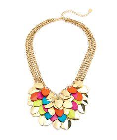 Playful Petal Necklace - Multicolored #shoplately