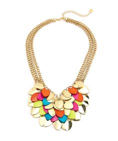 Playful Petal Necklace - Multicolored #shoplately
