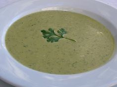 Roasted cream of poblano soup.  Make sure to add cornstarch to thicken up the soup.  It was good, but too thin.