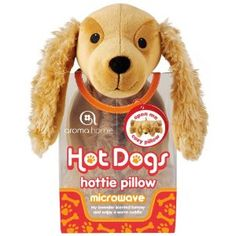 Aroma Home Hot Dogs Cocker Spaniel with a Microwaveable Lavender Scented Insert - UK STORE      Price: £14.44