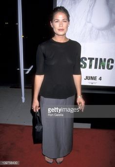 News Photo : Actress Maura Tierney attends the premiere of...