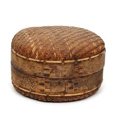 Africa   Wicker container from the Tonga people of Mozambique   19th century   Vegetable fiber and tree bark