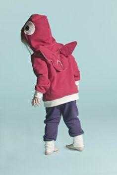 Otus Hoodie- Perhonen Pants One- Plum/NWhite Scandinavian Kids, Rain Jacket, Windbreaker, Butterfly, Hoodies, Sweaters, Pants, Jackets, Jenni