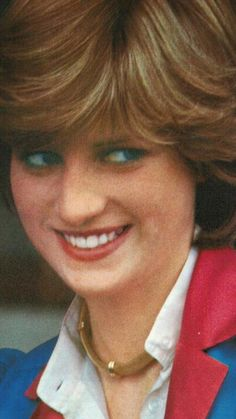 281) July 2, 1981 - Lady Diana thoroughly enjoying the Wimbledon tennis match. (The tournament takes place over two weeks in late June and early July).