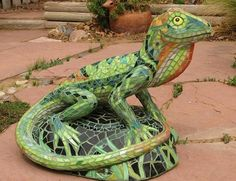 King Lizard by Patricia Halloran