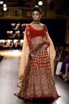 Alia Bhatt for at Shree Raj Mahal Jewellers India Couture Week (July) 2014