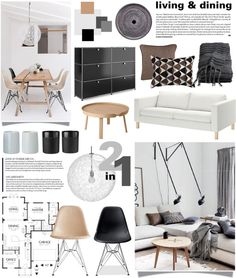 Living Dining By Summersun27 On Polyvore Interior Design