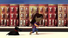 "CGSAFAR HD : 3D Animated Short Film ""Walk"" By  Ivy Flores"