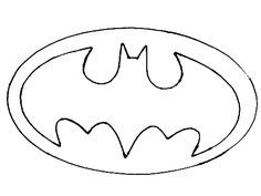 photo regarding Batman Symbol Printable identify Batman Emblem Printable Template - ClipArt Most straightforward - ClipArt