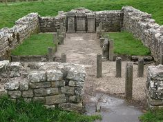 Mithras Temple built by Roman soldiers