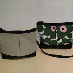 Made two new bags. Diy Bags Purses, New Bag, Belt, Accessories, Design, Fashion, Waist Belts, Fashion Styles, Belts