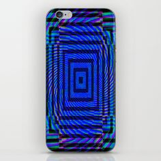 Optical Illusion Maze iPhone & iPod Skin