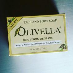 Olivella virgin olive oil Bar soap