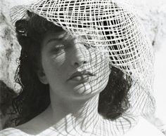 Portrait of Maya Deren, 1940s -by Alexander Hammid[Alexandr Hackenschmied]