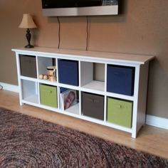 Projects from ana white cube furniture, furniture projects, furniture plans Cube Storage Bench, Baby Shoe Storage, Craft Room Storage, Kids Storage, Storage Cubes, Craft Desk, Food Storage, Storage Ideas, Shelving Ideas