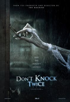 First trailer and poster for the horror film DON'T KNOCK TWICE starring Lucy Boynton and Katee Sackhoff. Scary Characters, Scary Movies, Hd Movies, Movies To Watch, Movies Online, Movies And Tv Shows, Ghost Movies, Tv Watch, Movie Film