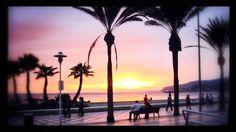 Atardecer en Almería / Sunset over Almería, by @NixNur