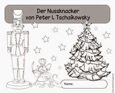 Miniarbeitsheft zum Nussknacker von P.I. Tschaikowsky        Nun bin ich mit meinem Musikmaterial doch etwas schneller fertig geworden als ...