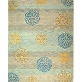 Found it at AllModern - Rodeo Drive Blue/Multi Rug 5'x8' $231