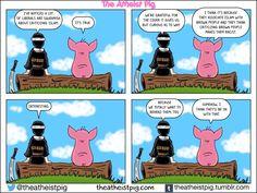 Atheist Pig