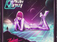 Dj Ten - Zioneon (Album Artwork) by Alessandro Strickner, via Behance New Retro Wave, Retro Waves, New Wave, Neon Artwork, Modern Artwork, Artwork Design, Vaporwave, 80s Album Covers, 80s Neon