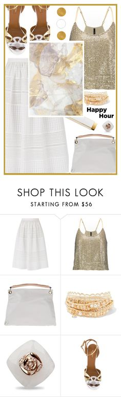"""Happy hour!"" by joliedy ❤ liked on Polyvore featuring Temperley London, W118 by Walter Baker, Manifatture Campane and Chan Luu"