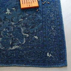 Bursa Rug from west elm #colorcrush