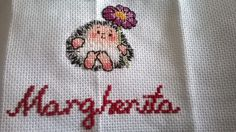 Easy hedgehog cross stitch I did for the birthday of one of the two twins of my friend Katalin.