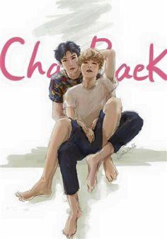 Eu queria mto saber desenhar, mas eu n sei então eu vou apenas apreciar o trabalho de quem sabe.  ♥ Fanart Chanbaek ♥