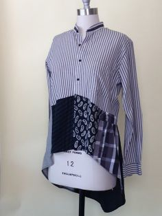 I would make this a bit longer overall. Gayle Ortiz: Men's Shirts-New Life