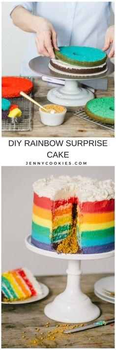 DIY Rainbow Surprise