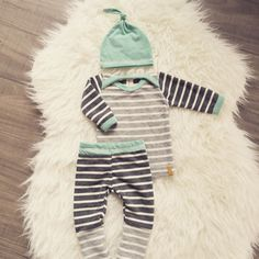 Boys Newborn Baby Outfit. Hospital Coming Home Outfit. Made to order turnaround time is 2-3 weeks  Mix of blue, grey and stripe print with matching top