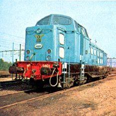 nederlandse diesel treinen
